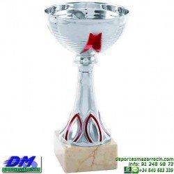 Trofeo copa economico 5286 diferentes alturas premio deporte pallart grabado chapa personalizado