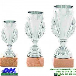 Trofeo copa economico 5287 diferentes alturas premio deporte pallart grabado chapa personalizado