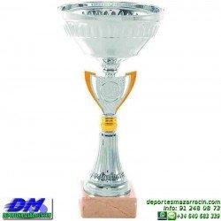 Trofeo copa economico 5294 diferentes alturas premio deporte pallart grabado chapa personalizado