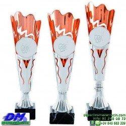 Trofeo copa economico 5301 diferentes alturas premio deporte pallart grabado chapa personalizado