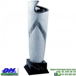 Trofeo ceramica 5004 diferentes alturas premio deporte pallart grabado chapa grabada