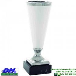 Trofeo ceramica 5014 diferentes alturas premio deporte pallart grabado chapa grabada