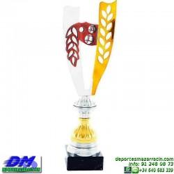 Trofeo copa clasica 5026 diferentes alturas premio deporte pallart grabado chapa grabada