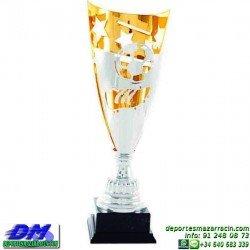 Trofeo copa clasica 5029 diferentes alturas futbol premio deporte pallart grabado chapa grabada