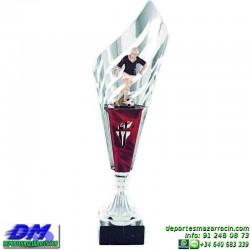 Trofeo copa clasica 5030 diferentes alturas futbol premio deporte pallart grabado chapa grabada