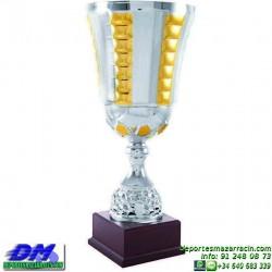 Trofeo copa clasica 5048 diferentes alturas premio deporte pallart grabado chapa grabada