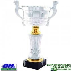 Trofeo copa clasica 5057 diferentes alturas premio deporte pallart grabado chapa grabada
