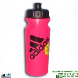 botella bidon de agua Adidas Performance Bottle 0,5 liltros ROSA S22455