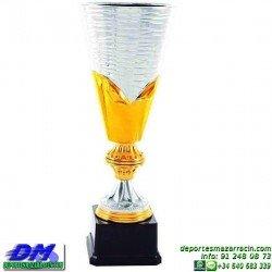 Trofeo copa clasica de ceramica 5083 diferentes alturas premio deporte pallart grabado chapa grabada