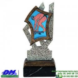 Trofeo copa con aplique 5325 economico premio deporte pallart grabado chapa personalizado