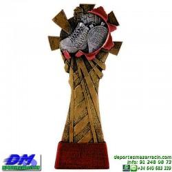Trofeo copa con aplique 5344 economico premio deporte pallart grabado chapa personalizado