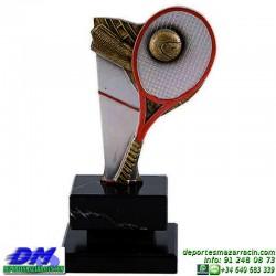Trofeo copa con aplique 5349 economico premio deporte pallart grabado chapa personalizado