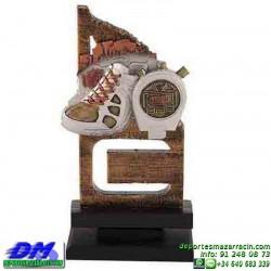 Trofeo copa con aplique 5350 economico premio deporte pallart grabado chapa personalizado