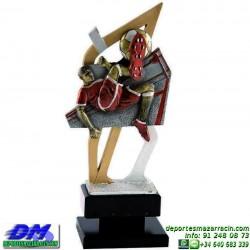 Trofeo copa con aplique 5352 economico premio deporte pallart grabado chapa personalizado