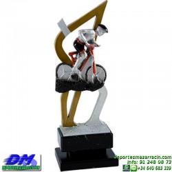 Trofeo copa con aplique 5356 economico premio deporte pallart grabado chapa personalizado
