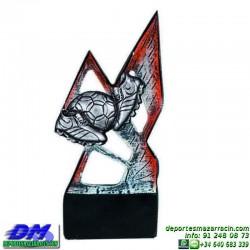 Trofeo copa con aplique 5368 economico premio deporte pallart grabado chapa personalizado