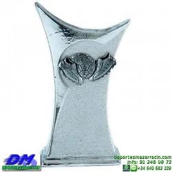 Trofeo copa con aplique 5371 economico premio deporte pallart grabado chapa personalizado