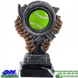 Trofeo copa con aplique 5383 economico premio deporte pallart grabado chapa personalizado