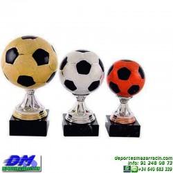 Trofeo Futbol 5396 balon pelota copa premio pallart chapa grabada diferentes tamaños alturas
