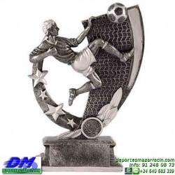 Trofeo Futbol 5398 jugador futbolista copa premio pallart chapa grabada diferentes tamaños alturas