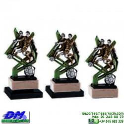 Trofeo Futbol 5399 jugador futbolista copa premio pallart chapa grabada diferentes tamaños alturas