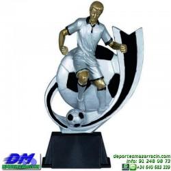 Trofeo Futbol 5401 jugador futbolista copa premio pallart chapa grabada diferentes tamaños alturas