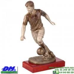 Trofeo Futbol 5403 jugador futbolista copa premio pallart chapa grabada diferentes tamaños alturas