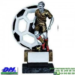 Trofeo Futbol 5406 jugador futbolista copa premio pallart chapa grabada diferentes tamaños alturas