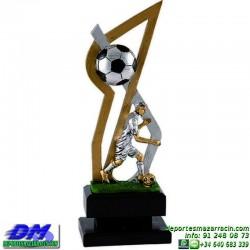 Trofeo Futbol 5408 jugador futbolista copa premio pallart chapa grabada diferentes tamaños alturas
