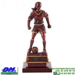 Trofeo Futbol 5409 jugador futbolista copa premio pallart chapa grabada diferentes tamaños alturas