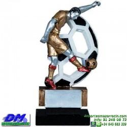 Trofeo Futbol 5411jugador futbolista copa premio pallart chapa grabada diferentes tamaños alturas