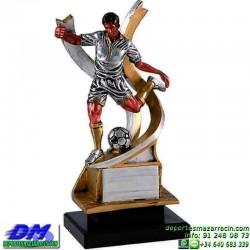 Trofeo Futbol 5413 jugador futbolista copa premio pallart chapa grabada diferentes tamaños alturas