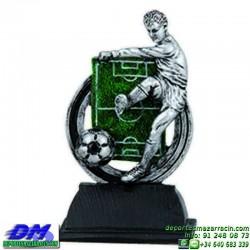 Trofeo Futbol 5418 jugador futbolista copa premio pallart chapa grabada diferentes tamaños alturas