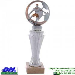 Trofeo Futbol 5421 jugador futbolista copa premio pallart chapa grabada diferentes tamaños alturas