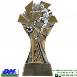 Trofeo Futbol 5423 jugador futbolista copa premio pallart chapa grabada diferentes tamaños alturas