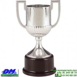 Trofeo Futbol 5427 replica copa del rey españa premio pallart chapa grabada diferentes tamaños alturas