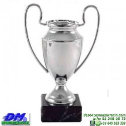 Trofeo Futbol 5428 replica copa de europa champions league premio pallart chapa grabada diferentes tamaños alturas