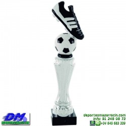 Trofeo Futbol 5429 bota jugador futbolista copa premio pallart chapa grabada diferentes tamaños alturas