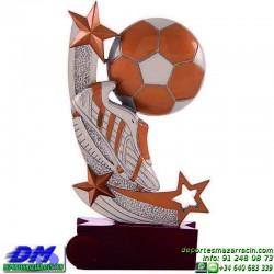 Trofeo Futbol 5430 bota jugador futbolista copa premio pallart chapa grabada diferentes tamaños alturas