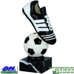 Trofeo Futbol 5431 bota jugador futbolista copa premio pallart chapa grabada diferentes tamaños alturas
