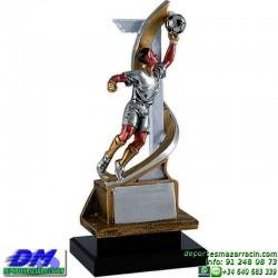 Trofeo Futbol 5434 bota jugador futbolista copa premio pallart chapa grabada diferentes tamaños alturas