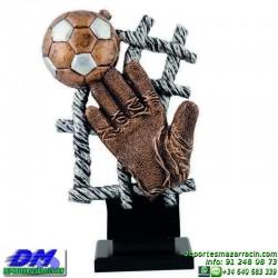 Trofeo Futbol 5438 portero arquero guante zamora copa premio pallart chapa grabada diferentes tamaños alturas