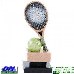 Trofeo Tenis 5462 copa premio tenista raqueta diferentes alturas pallart tamaños chapa grabada
