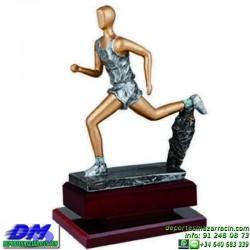 Trofeo Atletismo 5470 copa premio running diferentes alturas pallart croos atleta meta tamaños chapa grabada