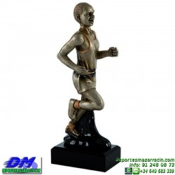 Trofeo Atletismo 5471 copa premio running diferentes alturas pallart croos atleta meta tamaños chapa grabada