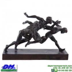 Trofeo Atletismo 5474 copa premio running cross pallart atleta meta chapa grabada