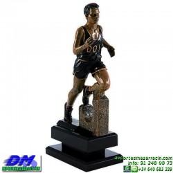 Trofeo Atletismo 5475 copa premio running diferentes alturas pallart croos atleta meta tamaños chapa grabada