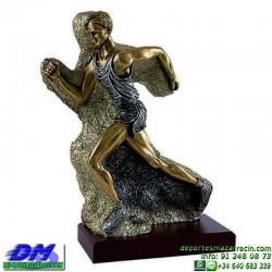 Trofeo Atletismo 5482 copa premio running diferentes alturas pallart croos atleta meta tamaños chapa grabada