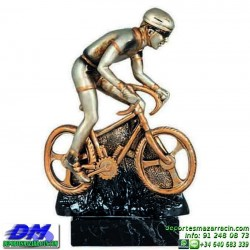 Trofeo Ciclismo 5499 premio diferentes alturas pallart ciclista bici bicicleta tamaños chapa grabada