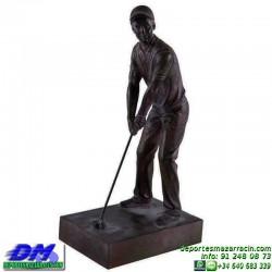 Trofeo Golf 5525 pelota golfista premio jugador pallart chapa grabada